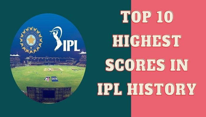 IPL has seen some of the highest team totals in IPL as well as T20 history. Here are the top 10 highest scores in IPL by a team.