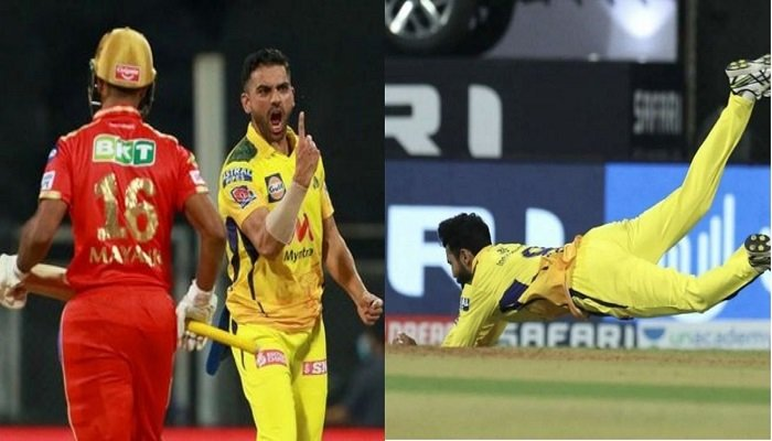 Deepak Chahar praised Ravindra Jadeja after the match between CSK and PBKS in IPL 2021. Read on to know what Chahar said about Jadeja.